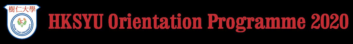HKSYU Orientation Programme